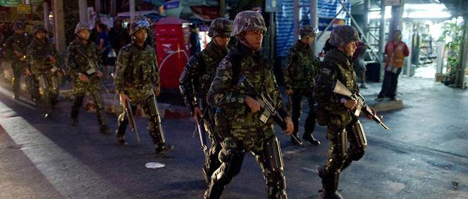 L'armée a mis ses menaces à exécution © NICOLAS ASFOURI / AFP