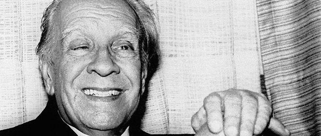 Jorge Luis Borges le 24 août 1981 ©AFP