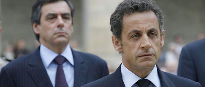 François Fillon et Nicolas Sarkozy © Ludovic Marin / Abaca