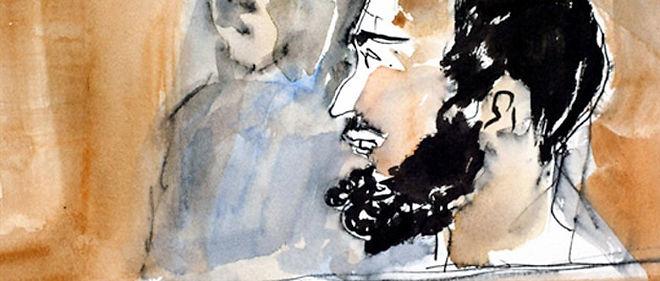 Smain Aït Ali Belkacem a été reconnu coupable d'avoir posé la bombe qui a explosé à la station RER Musée-d'Orsay à Paris le 17 octobre 1995 et a été condamné à la prison à vie en 2002 © AFP PHOTO / LAURENCE DE VELLOU