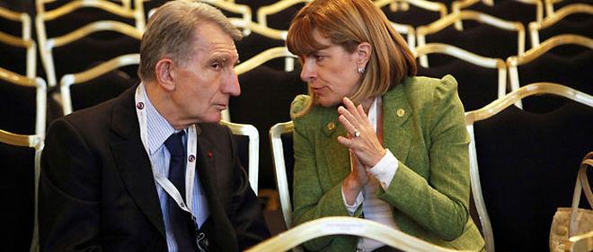 François Roussely et Anne Lauvergeon © Etienne De Malglaive/ABACAPRESS.COM