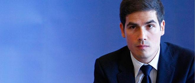 Mathieu Gallet, le nouveau président de l'INA © Thomas PADILLA / MAXPPP
