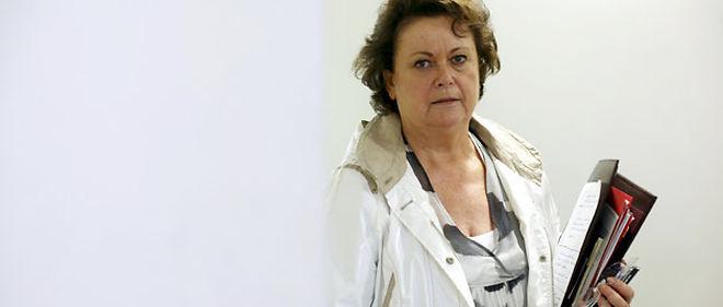 """""""Je suis en train de créer une jurisprudence avec cette décision"""", souligne Christine Boutin, après avoir annoncé qu'elle renonçait à une partie de ses revenus © PHOTOPQR/Le Parisien"""