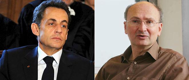 Nicolas Sarkozy a décroché son téléphone, voici une dizaine de jours, pour se plaindre auprès d'Éric Fottorino (à droite), directeur du Monde, de l'un de ses éditos © Montage lepoint.fr