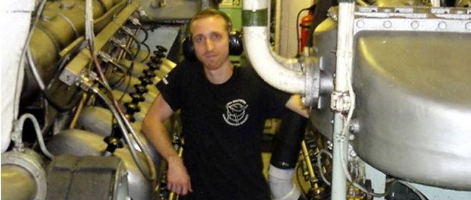 L'ingénieur Dan vogue sur les océans à bord du Steve Irwin depuis 5 ans © Sea Shepherd