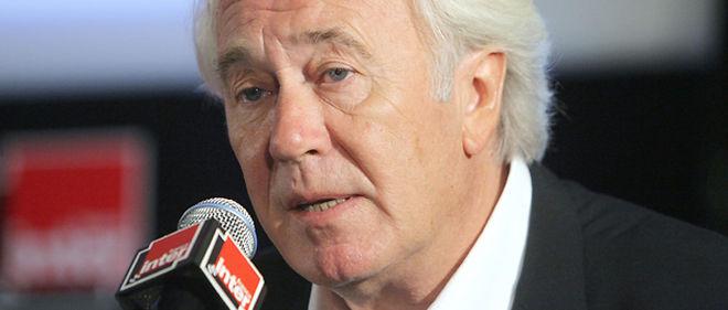 Le président de Radio France Jean-Luc Hees a été vivement critiqué après l'éviction des humoristes Stéphane Guillon et Didier Porte de France Inter © AFP