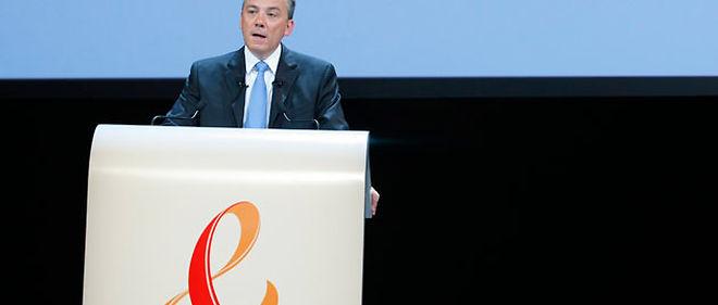 Stéphane Richard, le patron de France Télécom, annonce lundi la stratégie du groupe à l'horizon 2015 (photo d'illustration) © Thomas PADILLA / MAXPPP