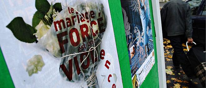 À Bobigny, les filles menacées d'un mariage au pays sont de plus en plus nombreuses à se rebeller © Christophe Petit Tesson / Maxppp