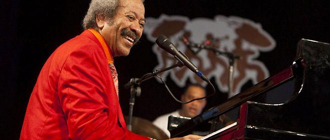 Allen Toussaint au Festival de jazz de La Nouvelle-Orléans en mai 2010 ©  EPA/MAXPPP