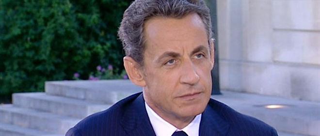 Nicolas Sarkozy © AFP PHOTO / FRANCE 2
