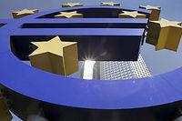 L'éclatement de la zone euro aurait un impact très grave sur toute l'économie européenne, selon un rapport réalisé par un économiste de chez ING © SIPA