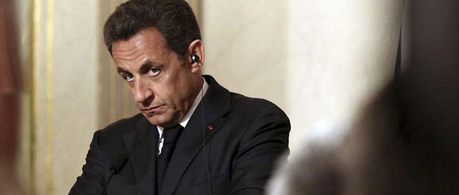 Nicolas Sarkozy © Lemouton Stephane / Abaca