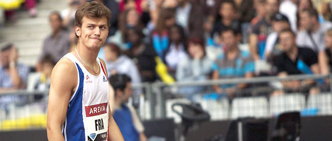 Le Français Christophe Lemaitre est le premier sprinteur blanc de l'histoire à courir sous les 10 secondes (9.98) © Aurelien Meunier/World pictures/WORLDPICTURES/MAXPPP