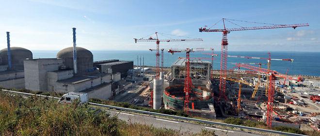 L'objectif de première production commercialisable de son réacteur EPR est désormais fixé à 2014, a indiqué EDF © AFP