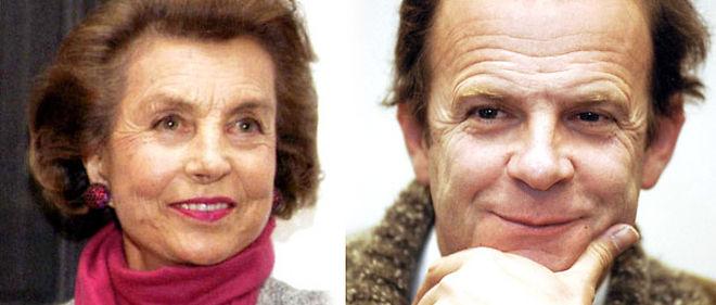 Liliane Bettencourt et Francois-Marie Banier © SIPA/ montage lepoint.fr