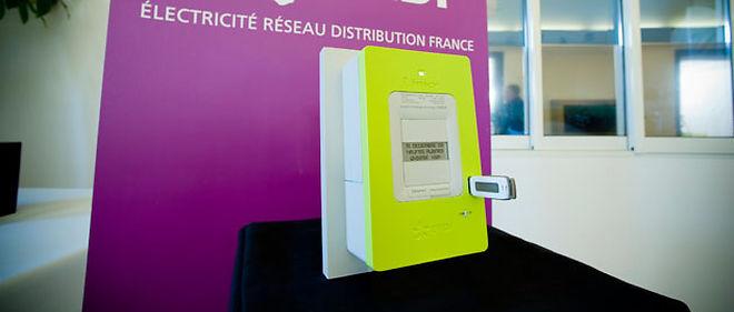 Le compteur intelligent Linky, déployé par ERDF pour les distributeurs © ERDF médiathèque /Aldo sperber