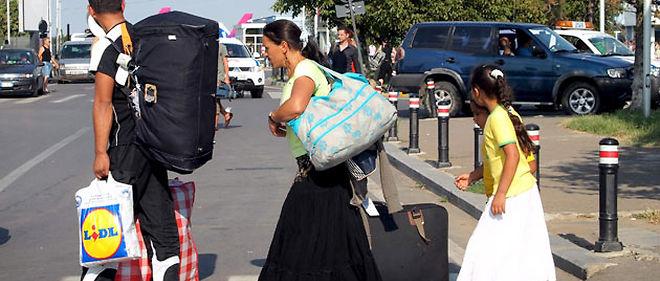 Ce n'est pas la première fois que l'ONU s'en prend à la France pour sa politique d'expulsion des Roms © Sipa