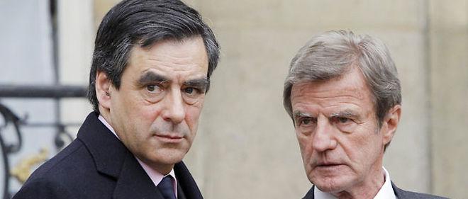 Le ministre des Affaires étrangères Bernard Kouchner et le Premier ministre François Fillon tentent de tempérer les relations franco-luxembourgeoises ©AFP