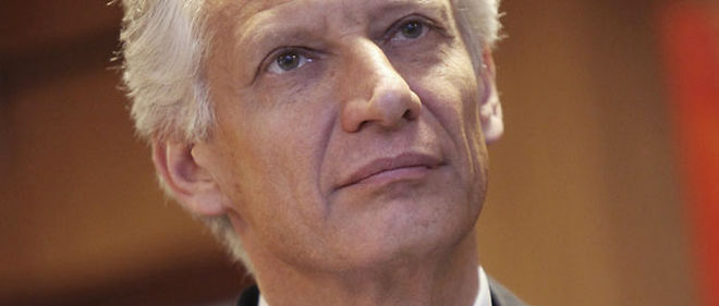Dominique de Villepin denonce la communication du gouvernement sur la menace terroriste (C) Abacapress.com