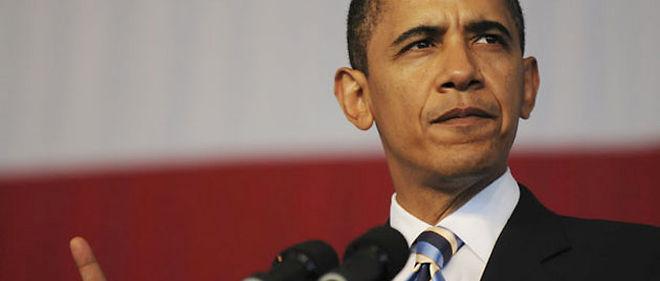 """Barack Obama a jugé que le programme républicain n'était """"pas la recette d'un avenir meilleur, c'est un écho d'une décennie désastreuse que nous ne pouvons nous permettre de revivre"""" © Abaca"""