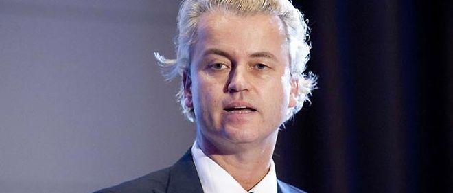 Geert Wilders, leader populiste et antimusulman © URBAN MARCO/SIPA
