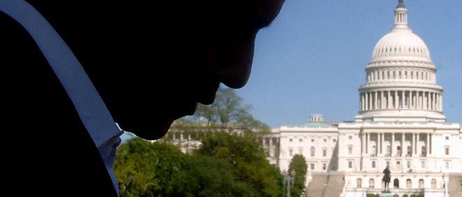 Barack Obama sauve de justesse sa majorité au Sénat, mais ne parvient pas à contenir la vague rouge à la Chambre des représentants, lors des élections de mi-mandat © Abacapress