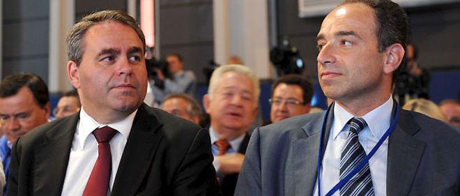 Le secrétaire général de l'UMP Xavier Bertrand et le patron des députés UMP Jean-François Copé entretiennent des relations tendues © WITT/SIPA