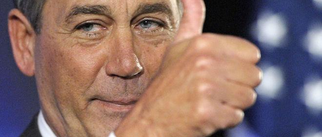 Le républicain John Boehner devrait prendre la tête de la Chambre des représentants © Sipa