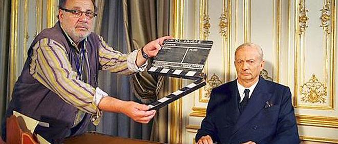 Le docu-fiction Je vous ai compris de Serge Moati avec Patrick Chesnais (à droite) © France 2