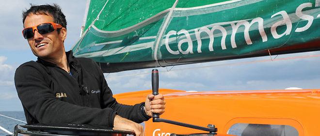 Franck Cammas fait la course en tête dans la Route du Rhum © Maxppp
