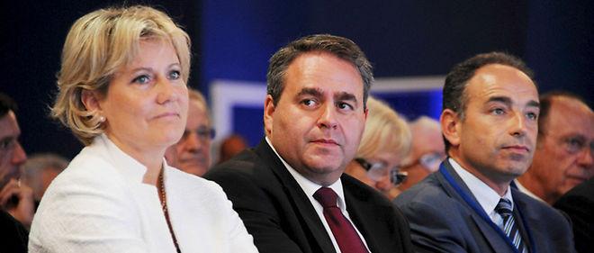 Nadine Morano, secrétaire d'État à la Famille, se sent capable de prendre la tête de l'UMP à la faveur du prochain remaniement... et au détriment de Jean-François Copé © Witt/Sipa