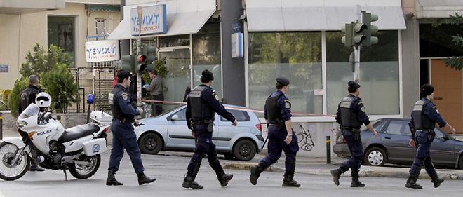 Après la découverte à Athènes d'une série de colis piégés, la Grèce interrompt tout envoi de courrier vers l'étranger © Sipa