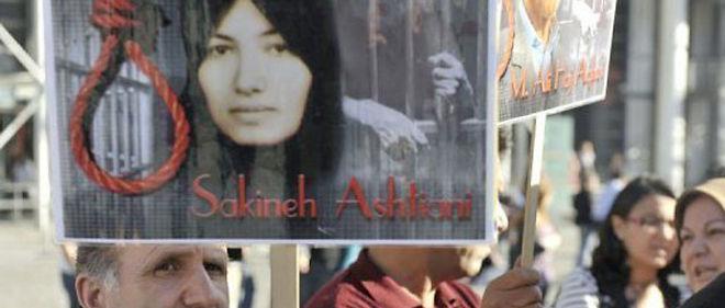 À l'initiative de ses enfants, la communauté internationale s'est mobilisée pour protester contre la condamnation à mort de Sakineh Mohammadi-Ashtiani © AFP