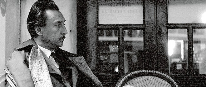 Romain Gary a Rome en 1962. (C) Sam Shaw Family Archives/Roger Viollet