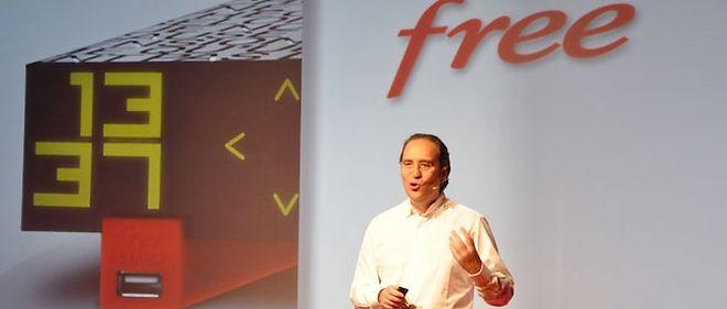 Xavier Niel a présenté la nouvelle box de Free, la Freebox Révolution