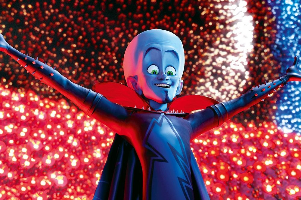 """Megamind 3D"" de Tom McGrath"