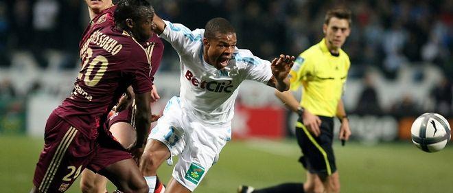 """Marseille a neutralisé Lyon (1-1) dimanche dans le choc des """"olympiques"""", empêchant l'OL de prendre la tête de la L1"""
