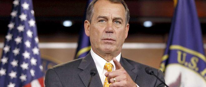 Le républicain John Boehner doit devenir le nouveau président de la Chambre