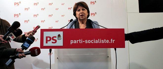 Martine Aubry a réuni les principaux dirigeants du PS pour adopter le calendrier des primaires