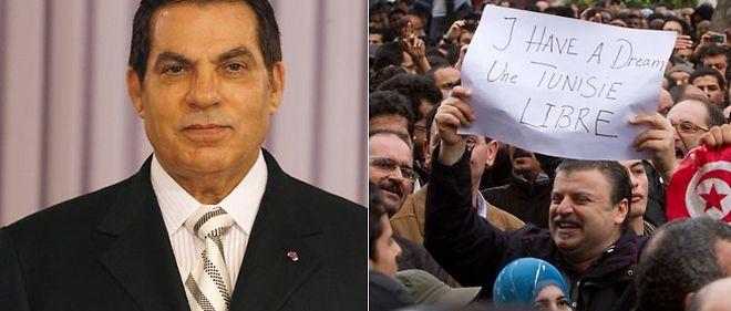 Le président tunisien Ben Ali a finalement cédé à la colère de la rue.