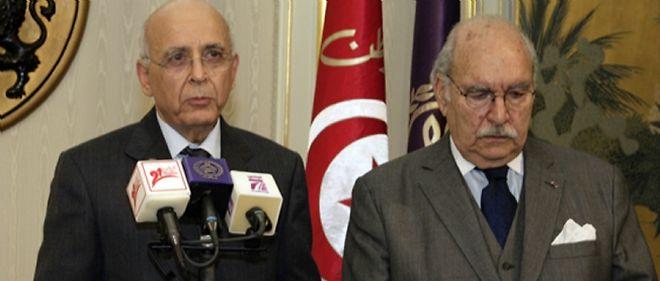 Mohamed Ghannouchi, président par intérim, a une réputation d'homme intègre alors que le président du Parlement Fouad Mebazaâ est perçu comme un cacique du pouvoir