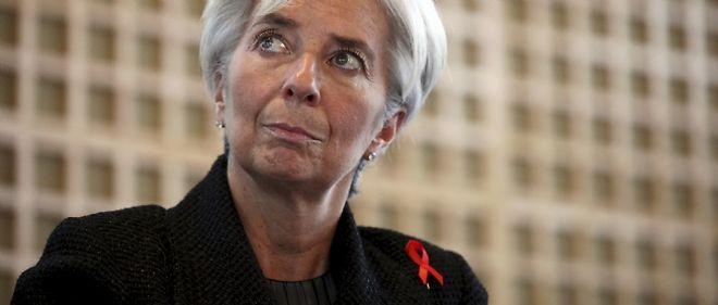 """Un """"gel des avoirs ne se décide que sur une décision judiciaire ou une décision internationale"""", a rappelé la ministre de l'Économie Christine Lagarde"""