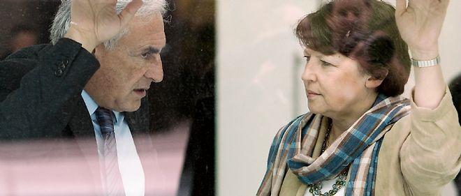 Dominique Strauss-Kahn et Martine Aubry à Bordeaux, le 6 mai 2006
