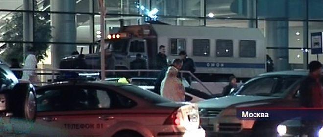 L'attentat s'est déroulé dans la zone d'arrivée des vols internationaux de l'aéroport Domodedovo de Moscou.