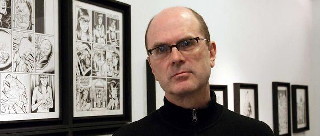 """Charles Burns, auteur de """"Toxic, l'un des grands favoris de la sélection officielle du festival"""