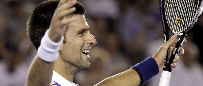 Le Serbe Novak Djokovic a battu dimanche le Britannique Andy Murray : 6-4, 6-2, 6-3