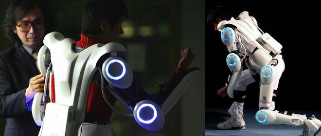L'exosquelette HAL amplifie ou remplace les muscles du corps humain.