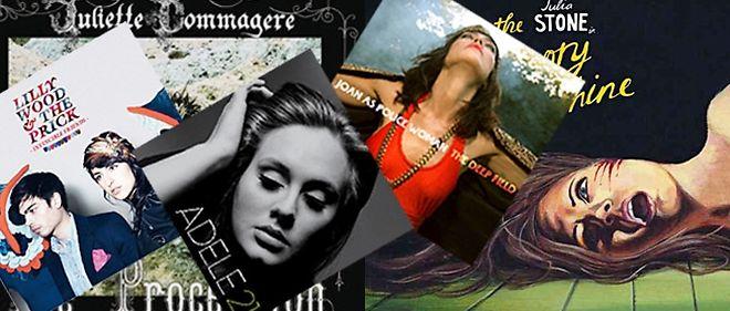 """Une play-list exclusivement féminine : Adele, Juliette Commagere, Julia Stone et Joan As Police Woman, avec, en bonus, un détour via 2010 pour célébrer la """"victoire"""" de Lilly Wood."""