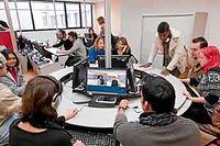 Un Business Game à l'ESC de Chambéry ©François Henry/REA