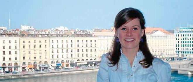 Sophie Gober, embauchée à Genève par le Crédit agricole après un VIE de 2 ans